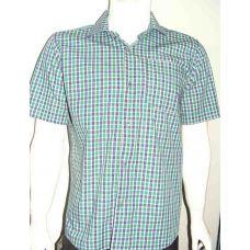 Рубашка мужская повседневная короткий рукав