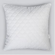 "Подушка ""White night"" шариковый силикон ст. микрофибра 70х70 б.з"