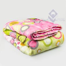 Одеяло 2- й силикон ткань поликоттон ; 1,5 (в чемодане)