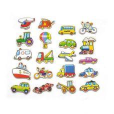 "Набор магнитных фигурок Viga Toys ""Транспорт"" 20 шт. (58924VG)"