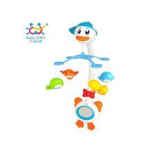 """Музыкальный мобиль Huile Toys """"Лебедь"""" (858)"""