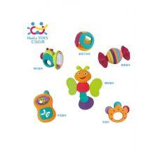 Набор погремушек Huile Toys, 6 шт (939A)