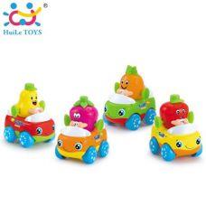 Игрушка Huile Toys Машинка Тутти-Фрутти (комплект из 4 шт) (356A-X)