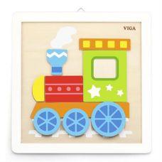 """Набор для творчества Viga Toys """"Своими руками. Паровозик"""" (50686)"""