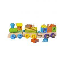 """Конструктор Viga Toys """"Поезд"""" (50572B)"""