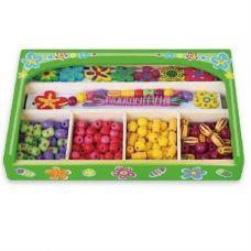 """Набор для творчества Viga Toys """"Ожерелье Цветы"""" (52730)"""