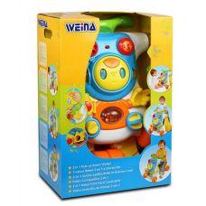 """Ходунки-каталка Weina развивающий центр 2 в 1 """"Верхом на роботе"""" (2130)"""