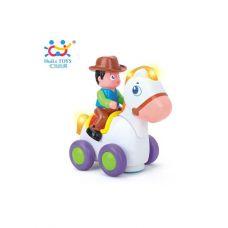 "Игрушка Huile Toys ""Ковбой на веселой лошади"" (838A)"