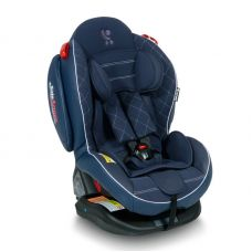 ARTHUR ISOFIX DARK BLUE LEATHER 0-25 KG