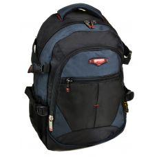 Школьный рюкзак 9612 black-blue