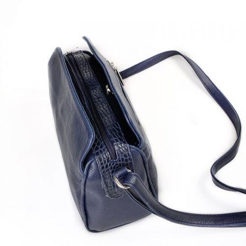 35fa7ada6188 Женская сумка с длинным ремешком М128-39/11 Сумки комбинированные ...
