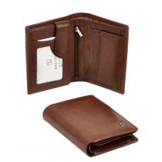 Мужской кошелек из натур. кожи MS-26 coffee