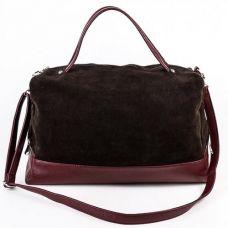 Женская сумка М113-38/замш