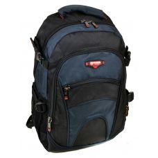 Школьный рюкзак 9609 black-blue