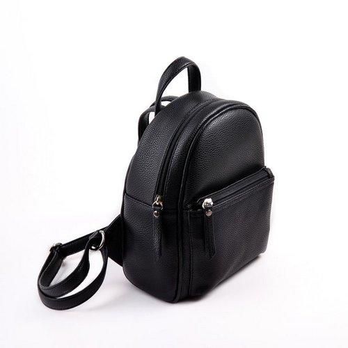 Женский черный рюкзак М124-47 Рюкзаки Галантерея купить недорого в ... 35290fc9897