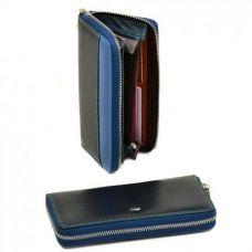 b2cc7a2cbdfe Женский кожаный кошелек Rainbow WRS-2 blue Кошельки, косметички ...