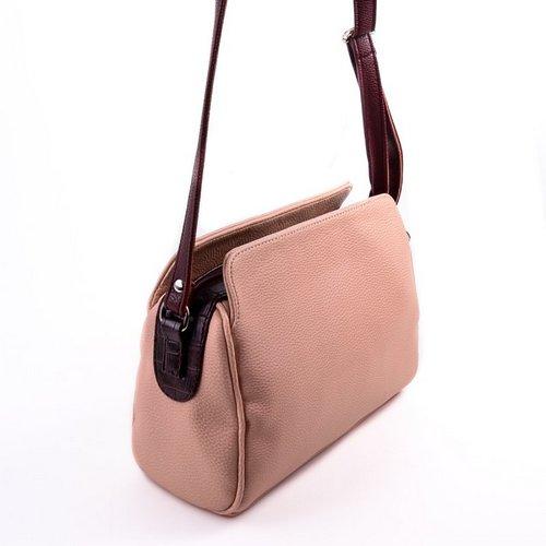 4956bcf5c0f1 Женская сумка с длинным ремешком М128-65/37 Сумки комбинированные ...