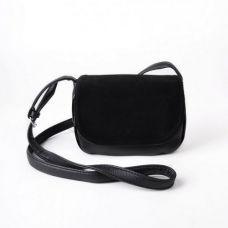 Женская сумочка с замшевым клапаном М55-Z/замш
