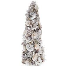 Декоративная елка Новогодний лес 53см с натуральными шишками