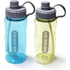 Бутылка для воды Fіssman Sport 1200мл с трубочкой, пластик