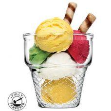 Набор 3 креманки-мороженницы Minicornet 245мл Ø85х86мм