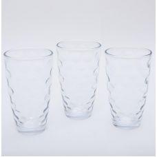 Набор 3 стакана Эмилия-41 прозрачные 425мл