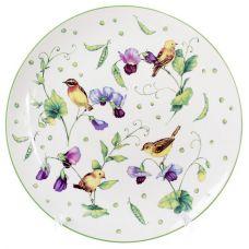 Тарелка фарфоровая Кантри обеденная Ø26.7см