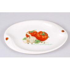 Блюдо сервировочное Bona Fresh Salad Помидоры овальное 30х20см