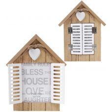 Фоторамка Babyroom Окно со ставнями для фото 10х13см, деревянная