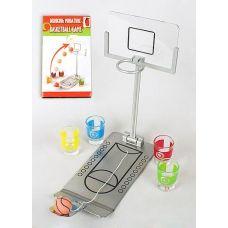 Игра настольная Баскетбол 25х12х25см (в наборе 4 стопки)