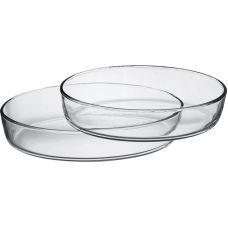 Форма для выпечки Borcam стеклянная овальная 260х180мм, 1500мл