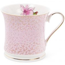 Кружка (чашка) Golden Iris Розовый Ирис в золотом 375мл