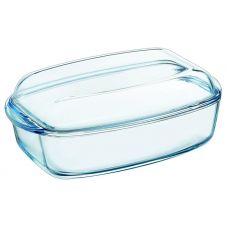 Форма для выпечки Pyrex Essentials (утятница) 32.6х19.7см, жаропрочное стекло