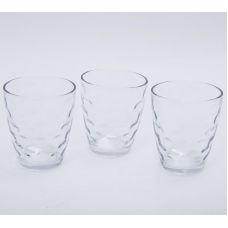 Набор 3 стакана Эмилия-33 прозрачные 350мл