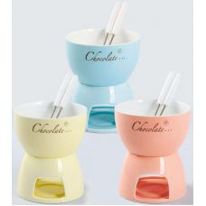 Набор для фондю Kamille Chocolate 3 предмета на 2 персоны