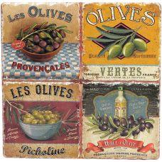Подставка под горячую посуду Olives керамическая 16х16см