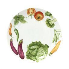 Десертная тарелка Овощи Ø19.5см, керамика