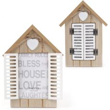 Фоторамка Babyroom Окно со ставнями фото 10х15см, деревянная