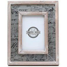 Рамка деревянная Флорина для фото 10х15см