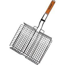 Решетка для барбекю Kamille Скаут глубокая 31х25х5.5см