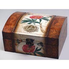 Деревянная шкатулка Дженнифер Flower Wild Rose, 20x16.5x10см