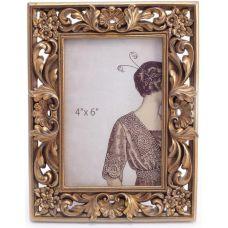Фоторамка Леди Милена фото 10х15см, цвета состаренного золота