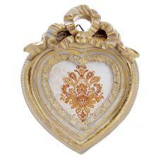 Фоторамка Animos Золотое Сердце украшение-подвеска 9.7х12.5см