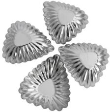 Набор 4 формы Empire для тарталеток (корзинка-листик) 65х75х15мм