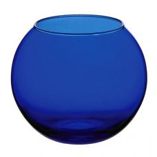 Ваза Flora WorkShop сфера 79мм синее стекло