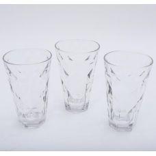 Набор 3 стакана Эмилия-25 прозрачные 375мл