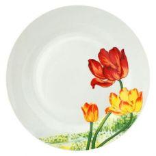 Набор 6 мелких тарелок Тюльпан Ø20см