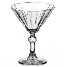 Набор 12 фужеров Diamond для коктейлей 240мл, мартинки