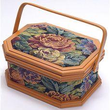 Шкатулка для рукоделия Констанция Tapestry with Roses, 27.3x20.8x13см