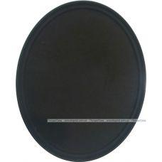 Поднос официанта Anti-Slip овальный 73х60см с антискользящим покрытием